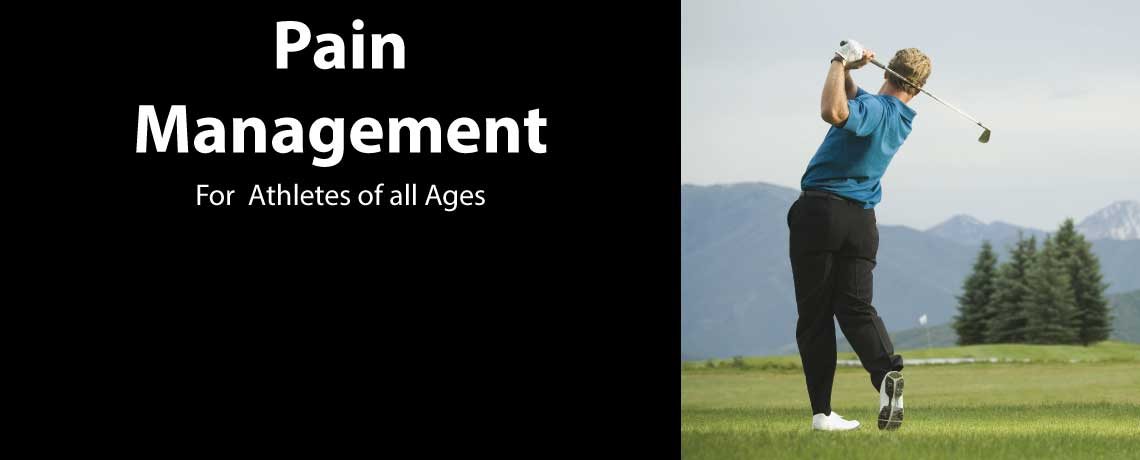 Golfing & Athletic Pain Management Program